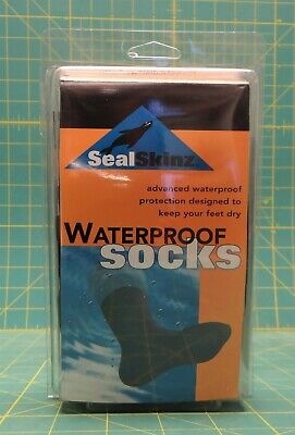 SEALSKINZ  SOCKS SEAL SKIN SKINZ OVER THE CALF WATERPROOF Sizes Small or Medium