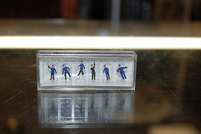 "N Preiser 590-79010 ""Hand painted figures"" * Railroad Workers * NIB"