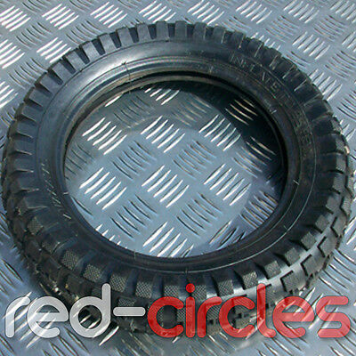 FRONT OR REAR 47cc & 49cc MINI DIRT BIKE KNOBBLY TYRE SIZE 12.5 x 2.75 - 8 INCH