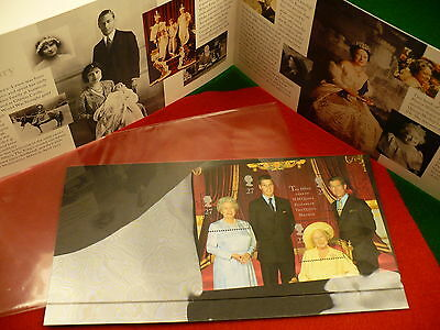 Royal Mail sheet stamps HM Queen Mother pamphlet & stamps 100 years P218