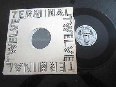 "The Exam ""love You Like You're Mine"" 1987 12"" (Terminal Records) Soul Electro"