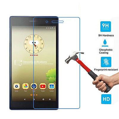 "Premium 9H 2.5D Guard Tempered Glass Film Skin For Lenovo Tab 3 7"" Tablet  Pc"