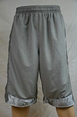 Pro Club Mesh Short Pants Gray Gym Heavy Weight Basketball Mens Jersey S-7Xl