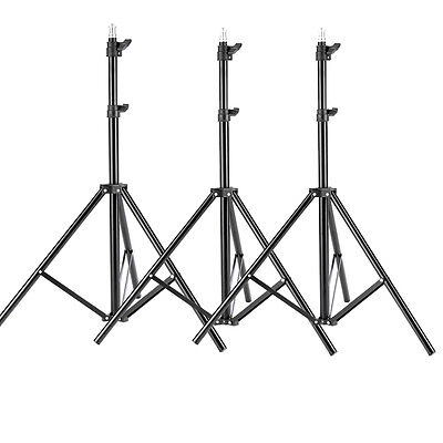 Neewer 3-pack 8.6Feet Aluminum Alloy Photography Light Stand