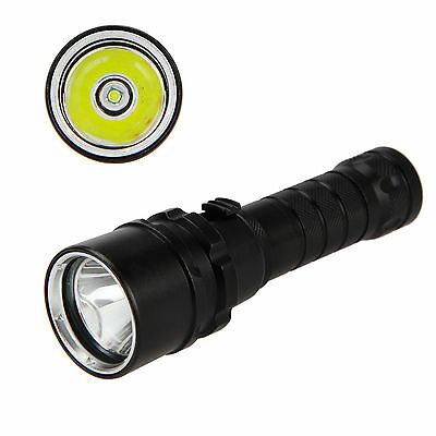 New Underwater 100M 5000LM XM-L T6 LED Diving Scuba Flashlight Torch Light Lamp