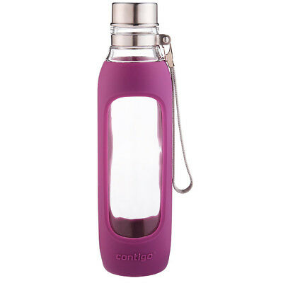 Contigo 20 oz Purity Glass Water Bottle - Radiant Orchid