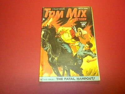 TOM MIX WESTERN #21 Fawcett Comics 1949