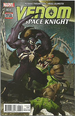 Venom Space Knight # 4 * Near Mint * Marvel Comics