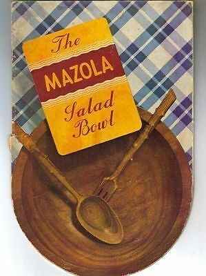 1938 Mazola Oil Booklet (Corn Products Refining Company