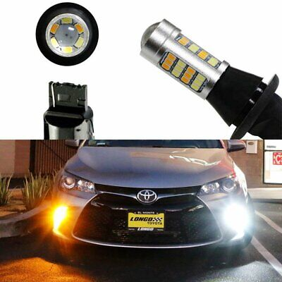 Switchback LED Bulbs For 2015-17 Toyota Camry Turn Signal Light DRL Conversion