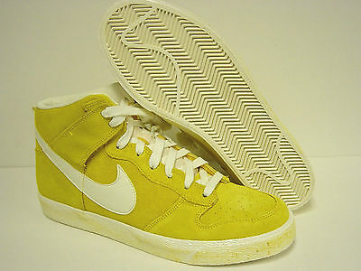 02459a86ccfe NEW Mens NIKE DUNK High AC 398263 700 MAIZE Yellow Sneakers Shoes Deadstock  Rare