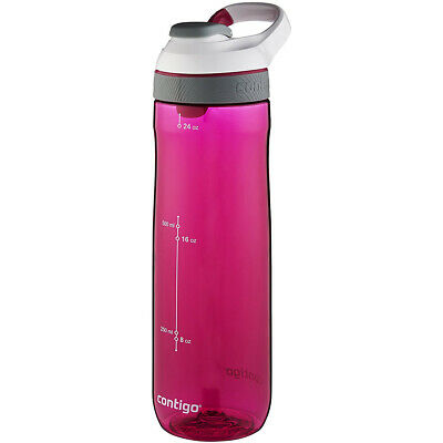 Contigo 24 oz. Cortland Autoseal Water Bottle - Sangria/Bone Lid