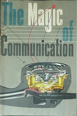1954 Bell Telephone System Booklet - Telephone: A Magic Device