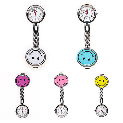 Nurse Watch Clip-on Fob Brooch Pendant Hanging watch Round Pocket Watch New