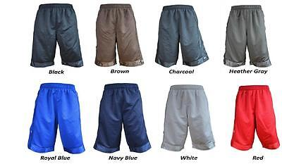Pro Club Mesh Short Pants Gym Heavy Weight Basketball Mens Jersey Fitness S-7Xl