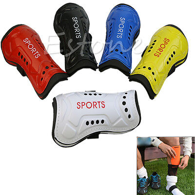 Utility 1 Pair Competition Pro Soccer Shin Guard Pads Shinguard Protector