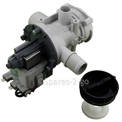 Drain Outlet Pump & Filter Housing for SAMSUNG Washing Machines 30W M47