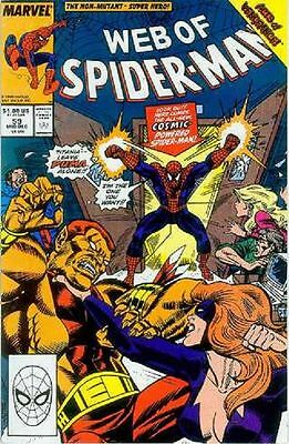 Web of Spiderman # 59 (Cosmic Spiderman, Acts of Vengeance tie-in) (USA, 1989)
