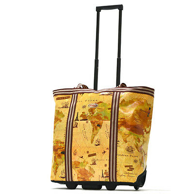 Olympia RS-310-MP COSMOPOLITAN ROLLING SHOPPER TOTE-RS-310-MP New