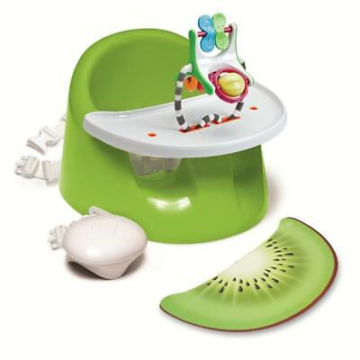Prince Lionheart BebePod Flex PLUS (Green) Baby Booster Seat with Tray & Toy