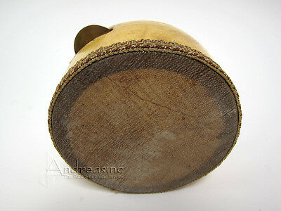 NEW AUTHENTIC KANJIRA EGYPTIAN AFRICAN FRAME DRUM w/ FISHSKIN HEAD