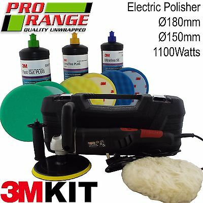 Pro Range & 3m Car Body Car Kit Digital Polisher/3M Polish Paint Restoration Kit