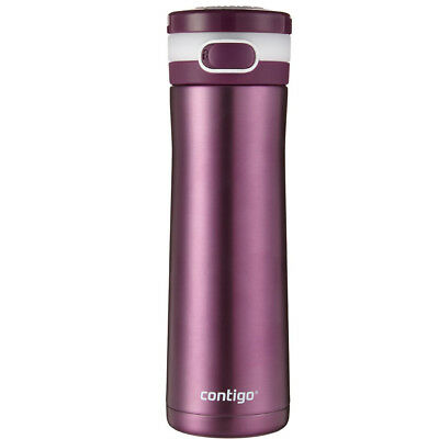 Contigo 20 oz. Glacier Stainless Steel Water Bottle - Radiant Orchid