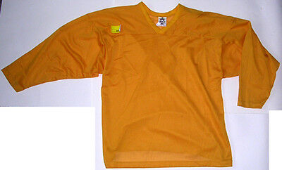 Athletic Brand Youth XL Gold 100% Poly Practice Jersey - Retailed at $15