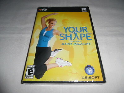 Your Shape featuring Jenny McCarthy - PC DVD Computer game Complete Sealed NEW