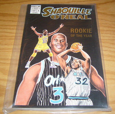Shaquille O'Neal #1 VF/NM GOLD FOIL VARIANT complete in polybag basketball 1993