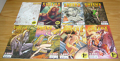 Sheena, Queen of the Jungle #1-5 VF/NM complete series C VARIANTS + (3) more