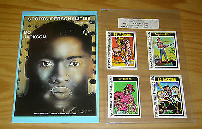 Sports Personalities #1 VF/NM trading card version - bo jackson - limited to 300