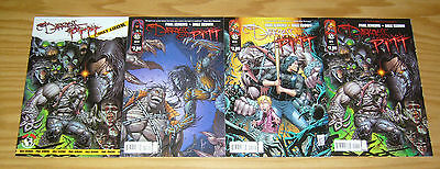 the Darkness/Pitt #1-3 VF/NM complete series + first look - dale keown set lot