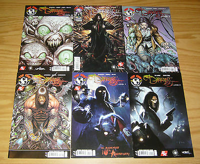 the Darkness: Level #0 & 1-5 VF/NM complete series 2 3 4 based on the video game