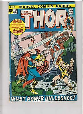 Thor [1971 Marvel] #193 GD silver surfer - gerry conway - john buscema