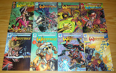 Warstrike #1-7 VF/NM complete series + variant - ultraverse mantra spinoff set