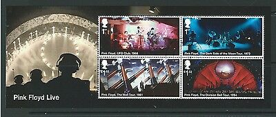 Great Britain 2016 Music Giants - Pink Floyd Miniature Sheet Fine Used