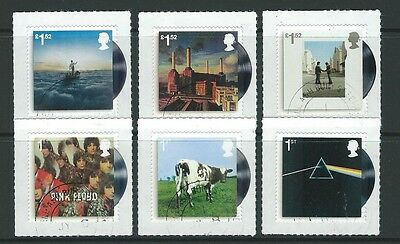 Great Britain 2016 Music Giants - Pink Floyd Set 6 Fine Used