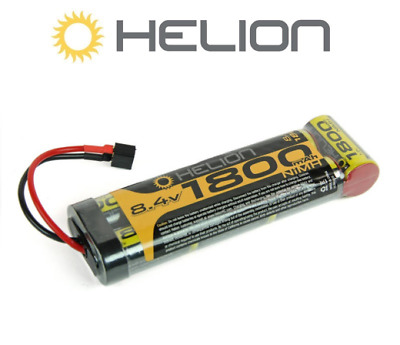 Helion HLNA0056 7 Cell Flat Battery 1800mAh 8.4V Deans Connector