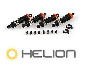 Helion HLNA0012 Front & Rear Shock Set with Ball Studs - Spare Part for Animus