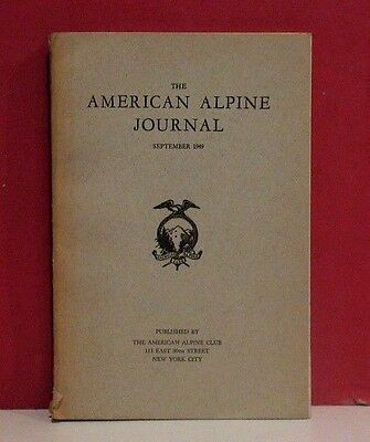 The American Alpine Journal - Volume 7 - Number 3 - September 1949