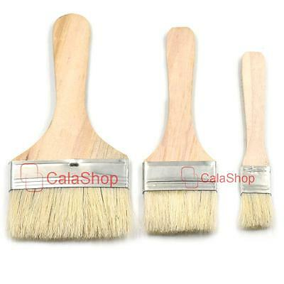 "Brush Brushes Bristles Perfect Adhesives Paint Touchups 1"" 2"" 3"" 25 50 75mm UU"