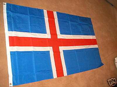 Iceland Icelandic Flag Flags 5'x3' Brand New