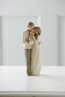 Willow Tree Our Gift Gift/Figurine/Ornament/Ceramic 26181 Family Baby Child