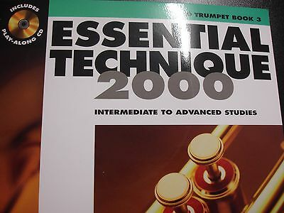 Essential Technique 2000 B flat Trumpet Book 3 with Play Along CD