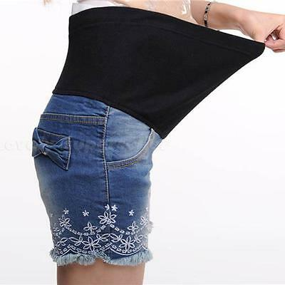 Women's Maternity Jeans Shorts LO1G