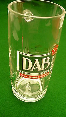Dab Dortmunder export draft beer glass stein handle mug .4litre