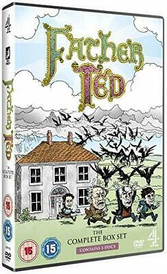 FATHER TED 1-3 (1995-1995) COMPLETE Comedy Season Series Specials R2 DVD not US