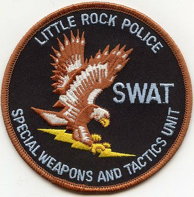 LITTLE ROCK ARKANSAS AR Special Weapons And Tactics SWAT POLICE PATCH
