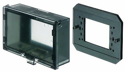 Arlington - Weather Proof Outlet Cover with Plate - Horizontal - Clear - 60HC
